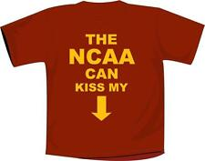 "USC t-shirt ""The NCAA Can Kiss My Ass"" NCAA Football Apparel Cardinal & Gold"