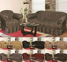 Large Jacquard Sofa Settee Covers All Sizes Cover, Alternate to Sofa Throw