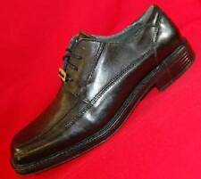 USED Men's DOCKERS PERSPECTIVE 90-3174 Black Leather Oxfords Dress Shoes