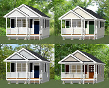 16x30 Tiny Houses -- PDF Floor Plans