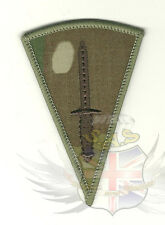 BRITISH ARMY STYLE MULTICAM RIPSTOP EMBROIDERED ROYAL MARINES COMMANDO DAGGER