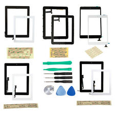 Touch Glass Screen Digitizer+Home Button+Frame Assembly for iPad 1/2/3/4 mini US