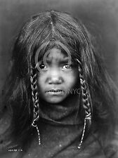 1912 NATIVE AMERICAN INDIAN YOUNG QUILCENE BOY CURTIS PHOTO