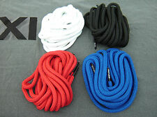 Air Jordan XI 11 Red Black Blue rope round shoe laces bred space jams concords