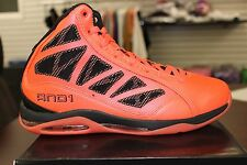 And 1 Basketball Sneakers Entourage Mid Hot Pink Plasma Black D1054MRRB