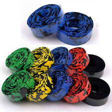 New Cycling Road Bike Sports Bicycle Cork Handlebar Wrap Tape with 2 Bar Plugs