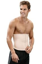 Squeem Men's Cotton Rubber Waist Cincher Body Shaper Shape Wear Flattens Abdomen