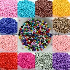 Wholesale 1000pcs Cezch Opaque Glass Seed Beads Jewelry Finding Spacer Beads