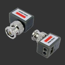 NEW CCTV VIDEO BALUN UTP CAT5 CABLE TRANSMIT RECEIVER - 1/5/10x PAIR (wholesale)