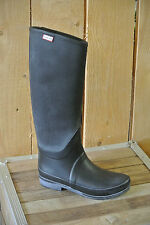 HUNTER BOOTS REGENT ST.JAMES CANVAS in Black, US Size 6