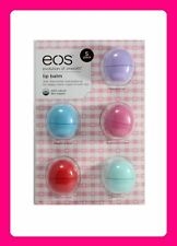 EOS LIP BALM ORGANIC SMOOTH SPHERES. BUY whole 5 PACK or just 1pc. pick a flavor