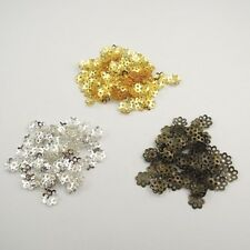 6MM 8MM 10MM Iron Hollow Flower Beads Cap Jewelry Finding Hot Sale