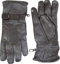 New Web-Tex British Army Soldier 95 Style Black Leather Combat Gloves-SAS/Para