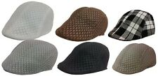 Kids IVY Mesh Newsboy Duckbill Cabbie Children Boy Girl Cap Hat