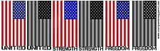 "American Flag HSA Reflective Firefighter Helmet Decal Sticker 2"" size"