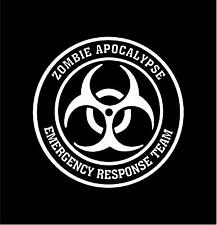 ZOMBIE APOCALYPSE RESPONSE TEAM Vinyl Decal Car Window Bumper Sticker  8""