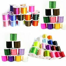 Bulk 20Pcs Mix Colors Crystal Stretch Elastic Beading Jewelry Thread Wire Cords