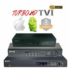 4ch 8ch 16Ch CCTV DVR Turbo HD TVI 1080P System Digital Video Recorder