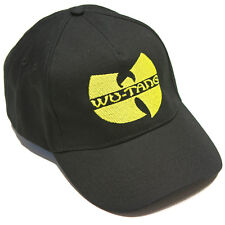 WU TANG CLAN EMBROIDERED BLACK BASEBALL CAP HAT ONE SIZE WU-TANG DRAKE RETRO