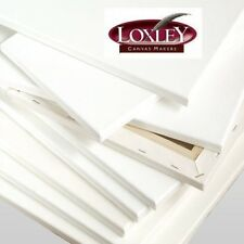 Loxley Gold Stretched Chunky Deep Edge Blank Artist Canvas Triple Primed