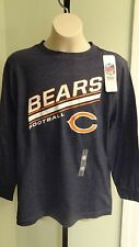NWT NFL Chicago Bears Youth Team Blue Tee Shirt - sizes Small, Large & XL