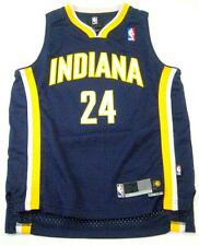 Paul George #24 Indiana Pacers NBA Basketball Youth Size Navy Jersey New