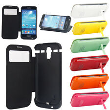 3200mAh Backup Case Cover Clip Power Battery Charger for Samsung Galaxy S4 i9500