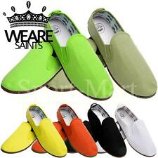 Mens We are Saints Niall Low Flat Canvas Pumps Trainers Shoes Mens Size