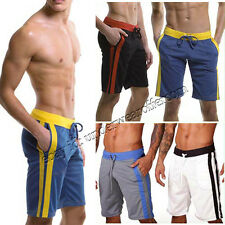 Men's Quick Dry Polyester Sport Sweat Pants Gym Athletic Slim Fit Lounge Shorts
