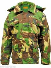 Mens Game Padded Camouflage Safari Parka Jacket