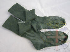 UK BRITISH ARMY SURPLUS HIGHLAND SCOTTISH GREEN LOVAT HOSE,LONG WOOL BLEND SOCKS