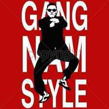 Cool Tshirt Gangnam Style PSY Oppa Kpop Music Oppan Korean Dance Pop Black Suit