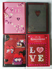 Valentine's Day Card Boxed 8 Different Variations FREE First Class Delivery
