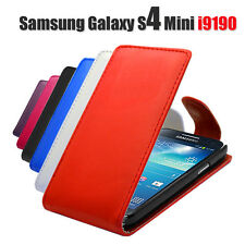 New Pu Leather Flip Phone Case Cover For Samsung Galaxy S4 Mini i9192 / i9195