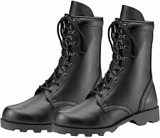 GI Style Speedlace Combat Boot - Black Military Boots - Great For All Labor!