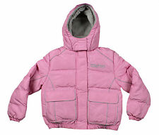 NHL Sports Hockey Ottawa Senators Girl's Youth Winter Jacket in Pink