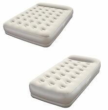 Bestway Comfort Quest Restaira Inflatable Camping Guest Flocked Air Bed Mattress