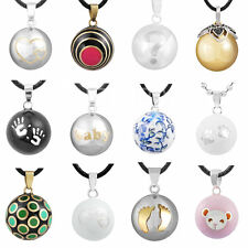 12 Styles Harmony Ball Mexican Bola Pendant Chime Necklace Sounds Angel Caller