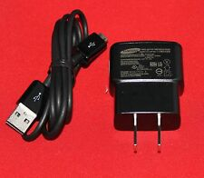 OEM Samsung 1A House Wall Travel AC DC Adapter+USB Data Sync Cord Charger Cable