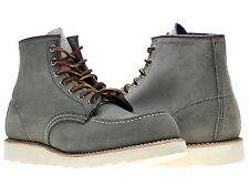 Red Wing Heritage 8139 6-Inch Sage Leather Classic Moc Toe Boots 08139