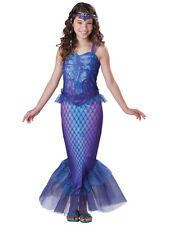 Child Mysterious Mermaid Outfit Fancy Dress Costume Fairytale Princess Kids