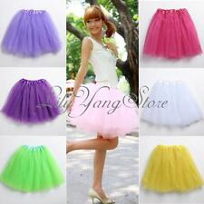 Women Girl Pretty Elastic Tutu Skirt Stretchy Tulle Dress Teen Wholesale adult