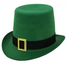 ADULTS IRISH HAT LEPRECHAUN FANCY DRESS ST PATRICKS DAY TOP HAT PADDY IRELAND