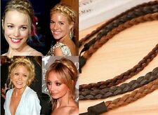Headband Wig Plait Braided Pigtail Hair Extension Synthetic Hair Accessories