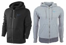 NEW MENS FLEECE NIKE FULL ZIP HOODED SWEATSHIRT TOP HOODIE HOODY SIZE S-XL BNWT