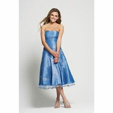TEATRO Blue Ladies Womens Formal Prom Dress Sequence and Beads