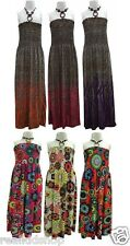 GIRLS HALTERNECK SUMMER MAXI DRESS CHILDRENS  KIDS SIZE 7-8,9-10,11-12 & 12-13