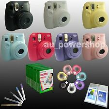 Fuji Fujifilm Instax Mini 8 Camera Instant Polaroid / Film / Close Up Lens / Pen