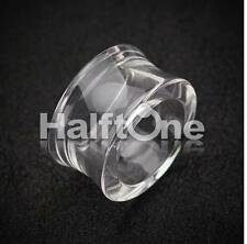 """Famous Acrylic Double Flared Hollow Clear Tube Tunnel Plugs ( 6 g - 1"""" inch )"""