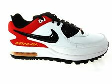 NIKE AIR MAX WRIGHT MEN'S WHITE/BLK/RED/GOLD SHOES, #317551-168